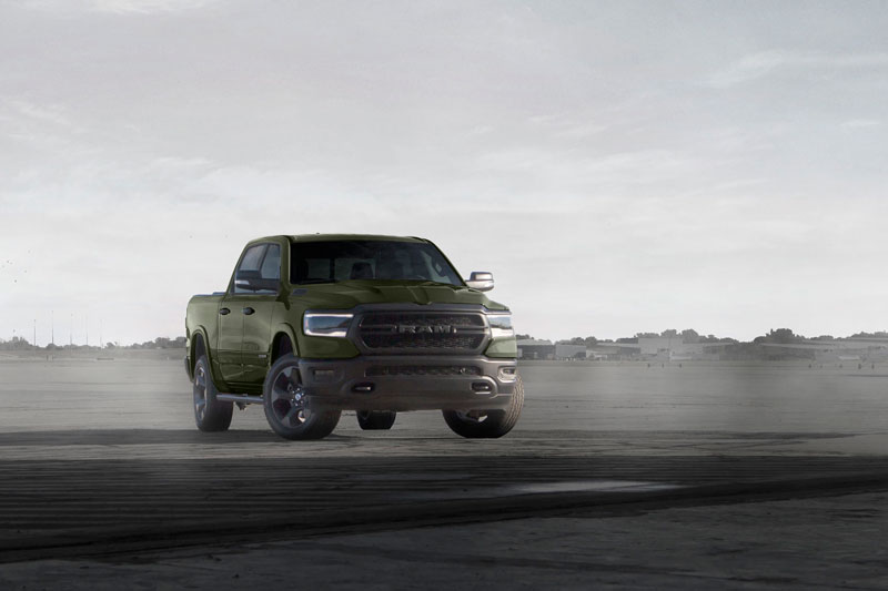Ram Truck Built to Serve Edition