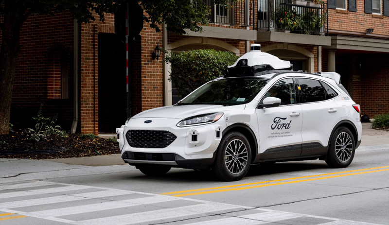 Ford's next-gen self driving test vehicle