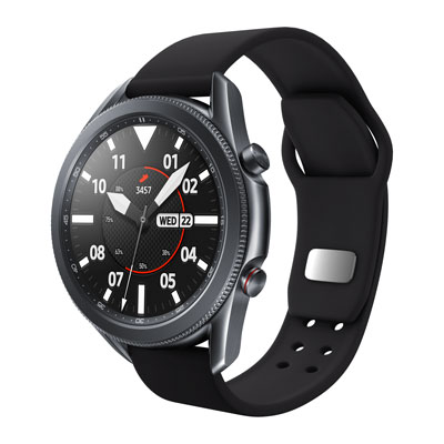 Samsung smartwatch with Affinity Brand Partners band