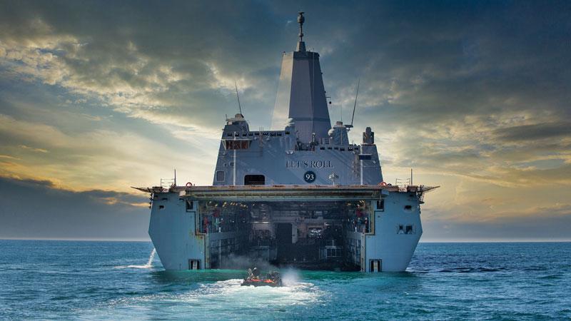 BAE Systems' Amphibious Combat Vehicle