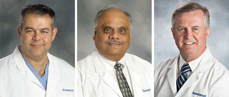 Dr. Abed Asfour, Dr. Ashok B. Jain, Dr. Robert Welsh