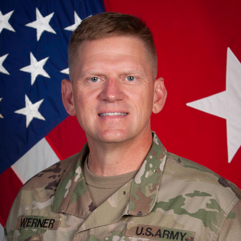 Brig. Gen. Darren L. Werner
