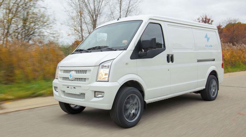 Electric Last Mile Solutions Inc. van