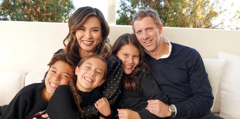 Adam Levinson and family