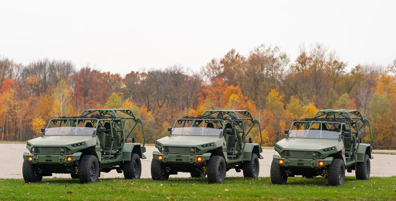 GM Defense's Infantry Squad Vehicle