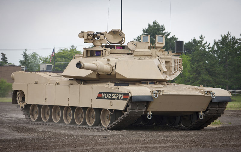 M1A2 SEPv3 Abrams main battle tanks