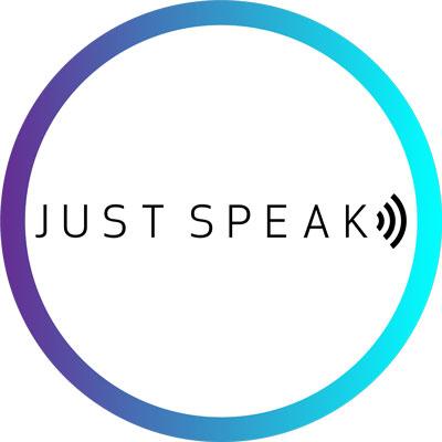 Just Speak logo