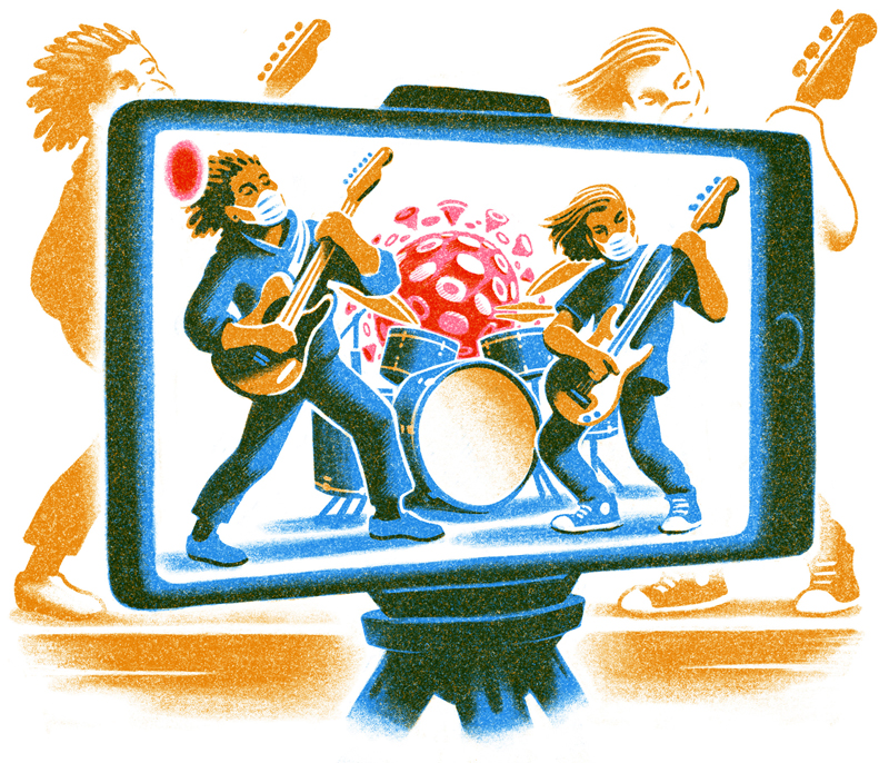 live venues illustration