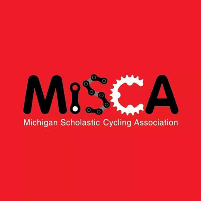 Michigan Scholastic Cycling Association logo