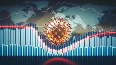COVID-19 economic dip graph