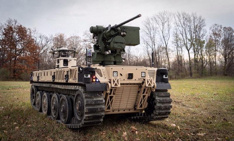 Pratt Miller defense vehicle