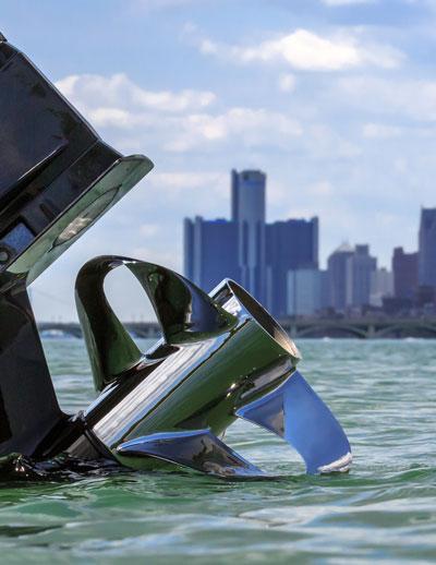 Sharrow Propeller in Detroit River
