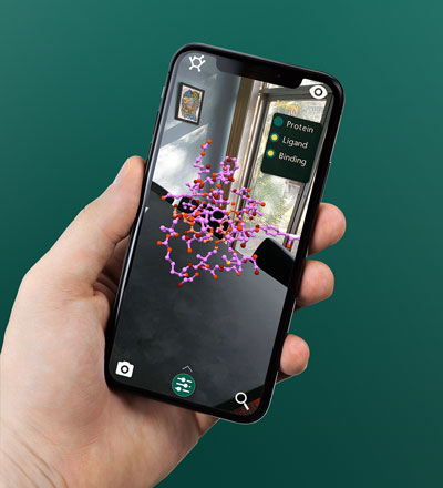 3D Molecule Viewer app