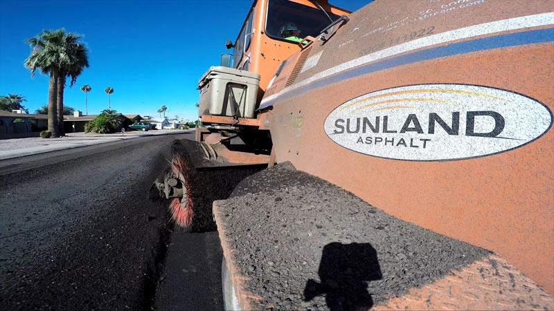 Sunland Asphalt truck