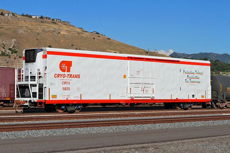 Cryo-Trans railcar