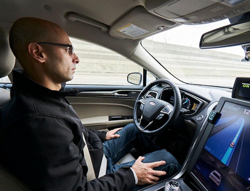 autonomous car by Mobileye