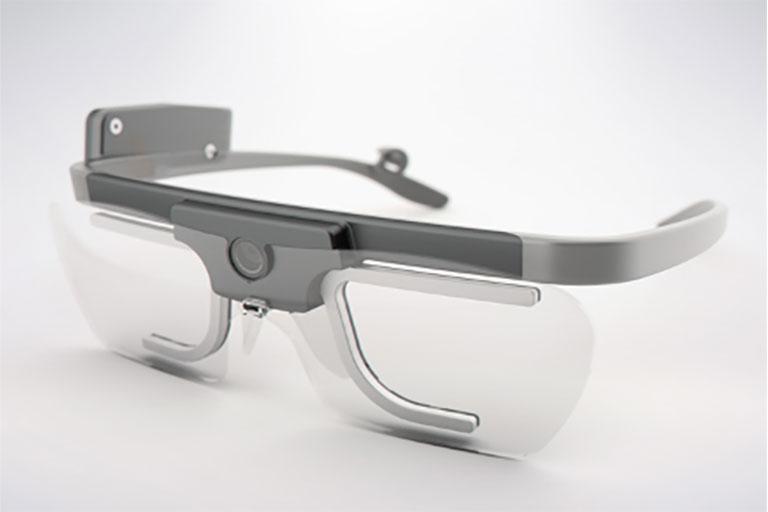 Tobii eye-tracking glasses