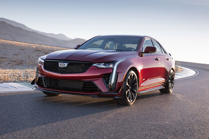 Cadillac Reveals V-Series Blackwing Models