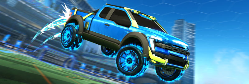 2021 Ford F-150 in Rocket League