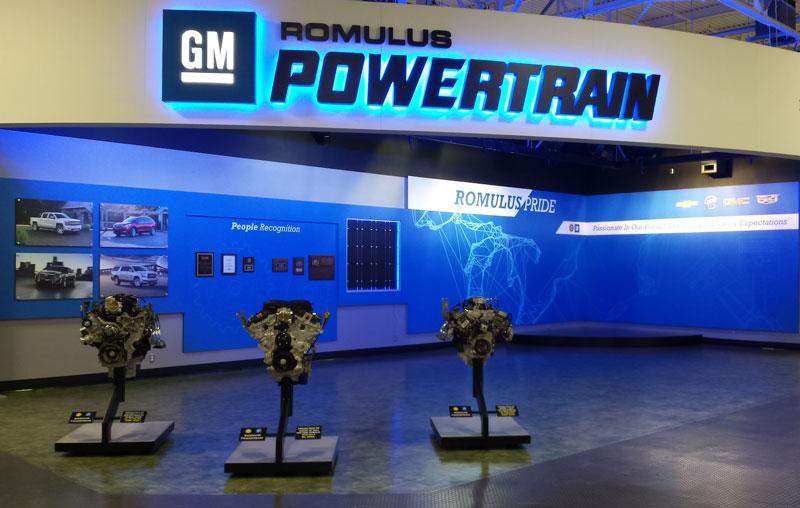 GM Romulus propulsion plant