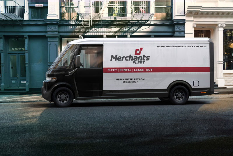 Merchants Fleet BrightDrop vehicle