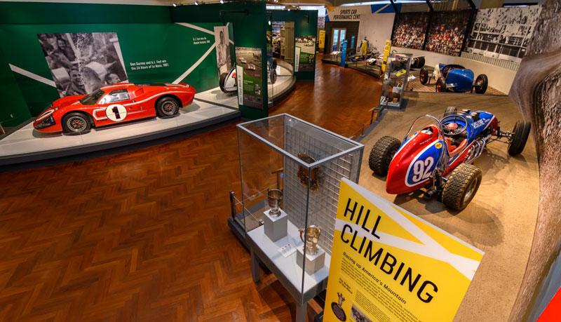 Driven to Win: Racing in America exhibit