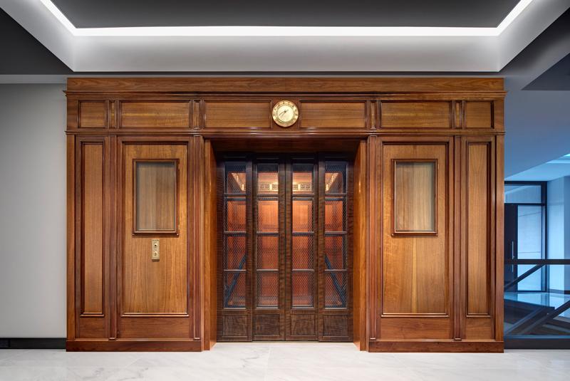 Hudson's elevator