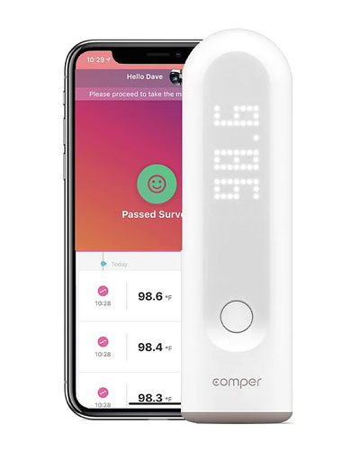 Temp Protect app