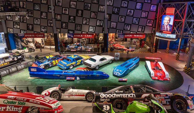Motorsports Hall of Fame of America museum