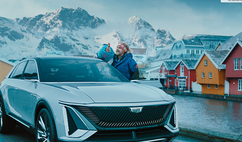 GM ad with Will Farrell