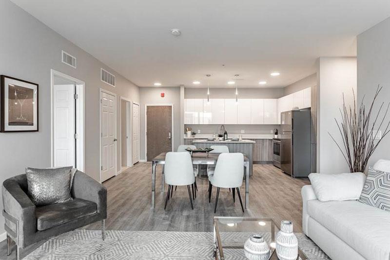 4 Corners Apartment living space