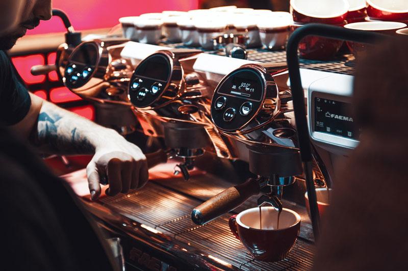 Gruppo Cimbali E71e coffee machine