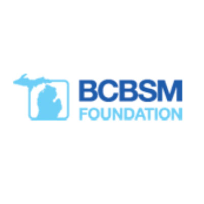 Blue Cross Blue Shield of Michigan Foundation logo