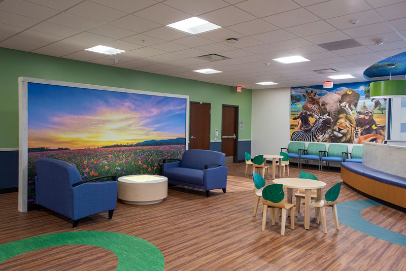 Florence and Richard McBrien Pediatric Neuroscience Center
