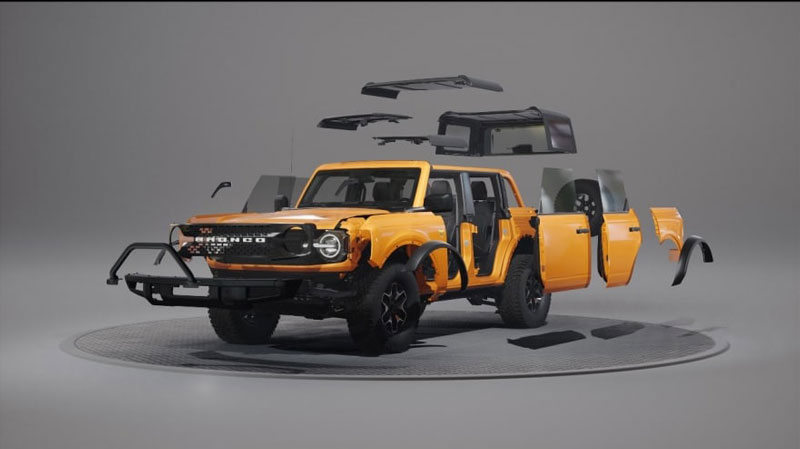 Bronco customizable