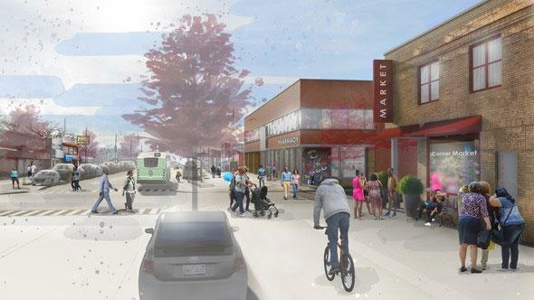 East Warren/Cadieux neighborhoods rendering