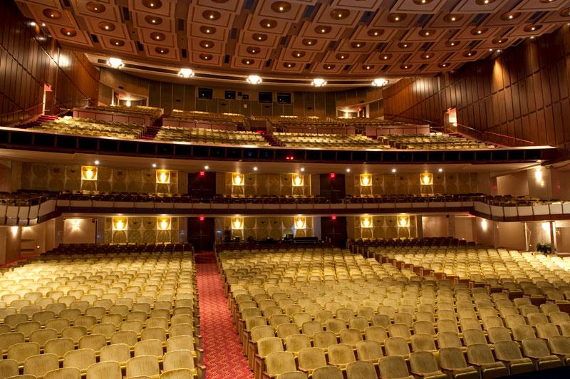 Fisher Theatre Auditorium