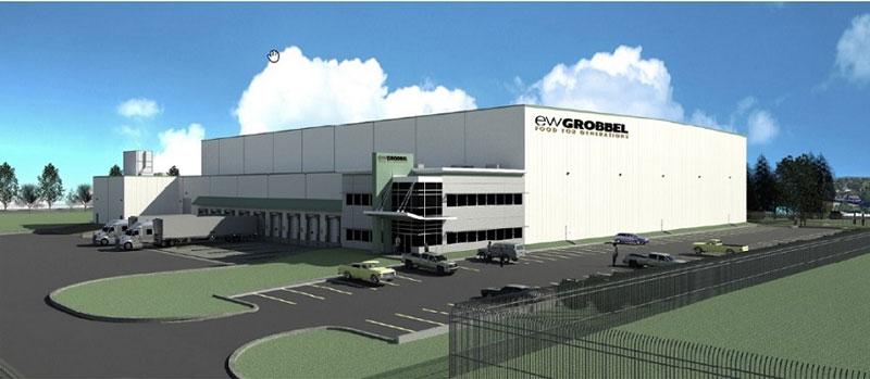 EW Grobbel Sons Inc. new facility rendering