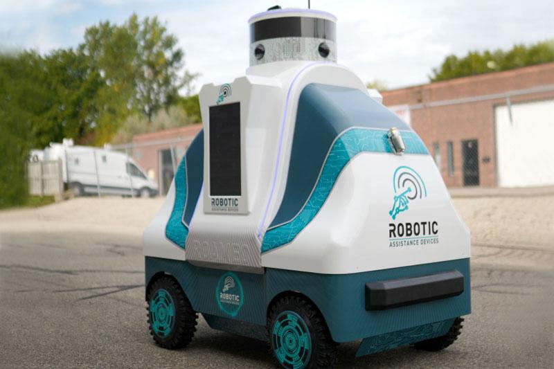 Robotic Assistance Devices' ROAMEO robot