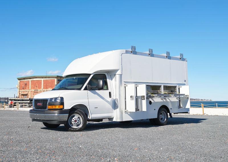 Shyft's Utilimaster Trademaster specialty service truck