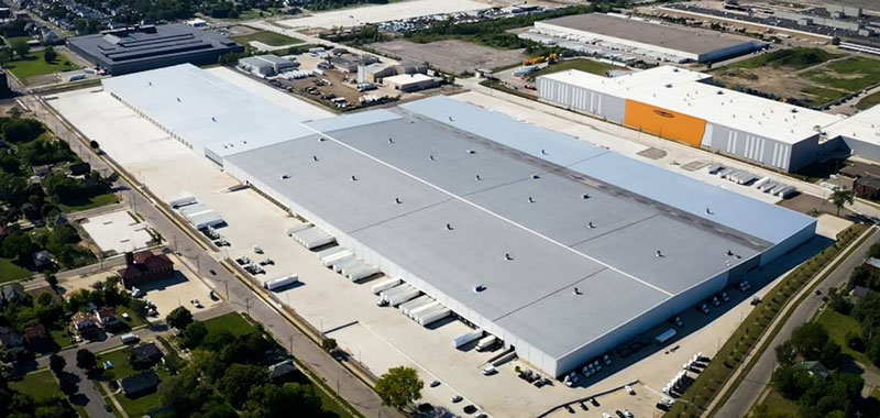 Universal Logistics Detroit facility