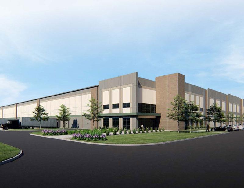 Oakland Logistics Center rendering