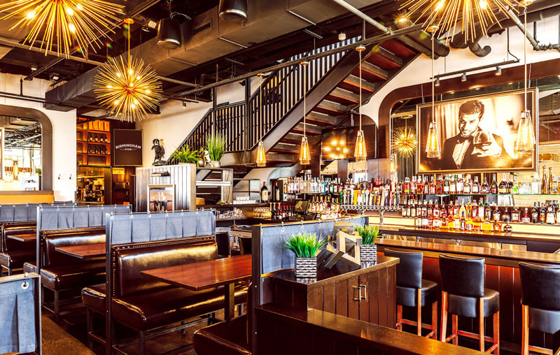 Birmingham Pub interior