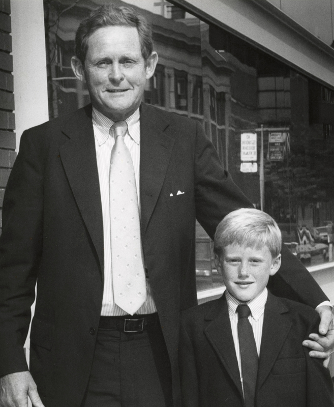 Fred and Rob Fisher