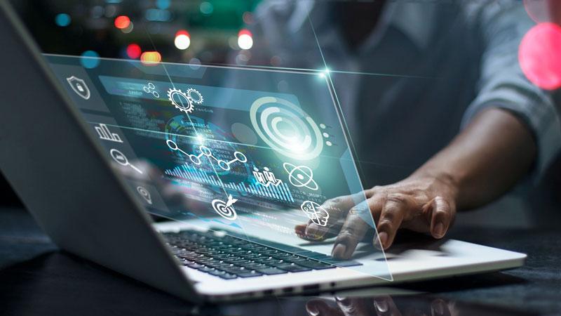 information technology stock image