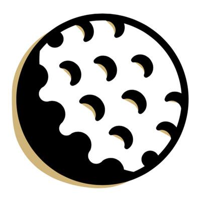 golfball graphic