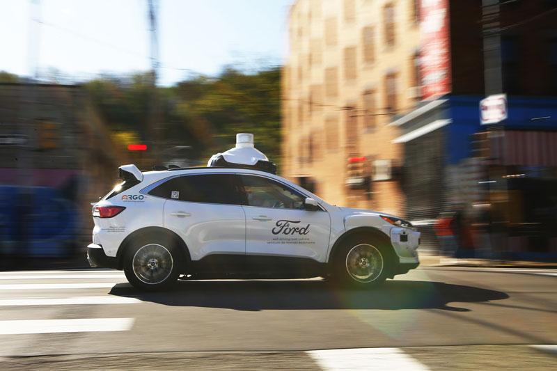 Argo AI autonomous test vehicle