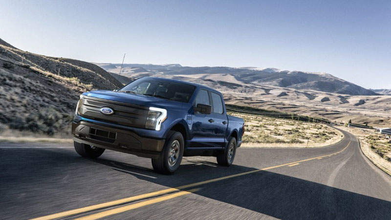 The new Ford F-150 Lightning
