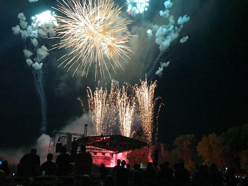 Greenfield village firework show 2019