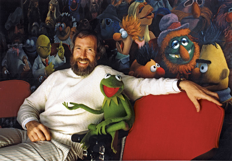 Jim Henson with Kermit the Frog